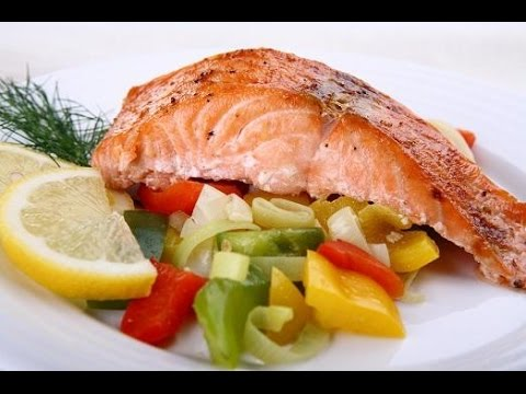 Готовим вкусно сочную красную рыбу