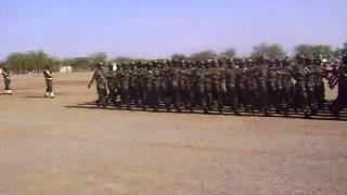 Ethopia Army  Parade