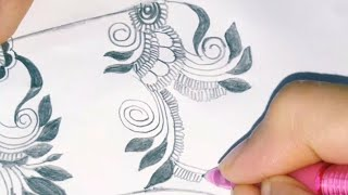 Easy simple mehndi design💖💖