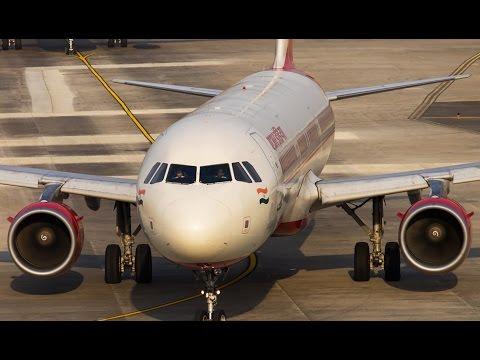 Air India |Goa to Delhi 2017 |Full Flight |Airbus A320-231 VT-EPJ 27.6 years old plane