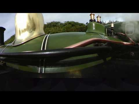 360 degrees Steam Train journey - Isle of Man - Douglas to Port Erin - 360fly