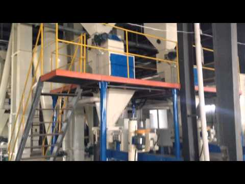 The first layer structure of animal feed production line