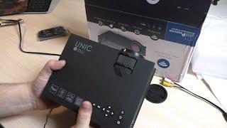 Отличный китайский LED проектор из Китая. UNIC UC46(Китайский LED проектор, можно сказать лучший мини проектор из Китая. Проектор с Aliexpress, цена конечно кусается..., 2016-03-20T17:30:00.000Z)