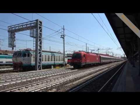 EuroCity 84 Rimini - München in partenza dalla stazione di Bologna Centrale