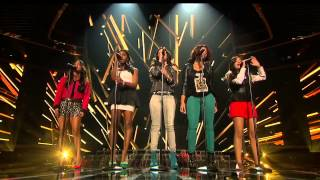 fifth harmony skyscraper live week 1 sing off the x factor usa 2012