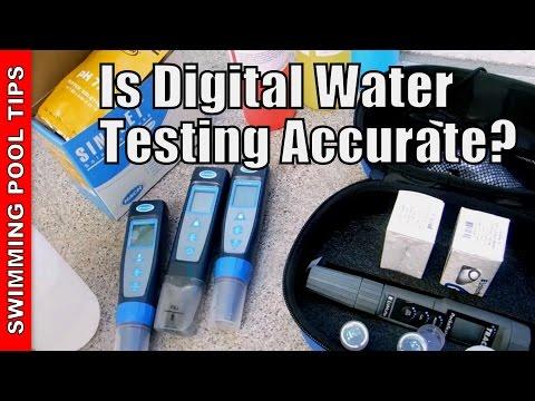 Is Digital Water Testing Accurate?