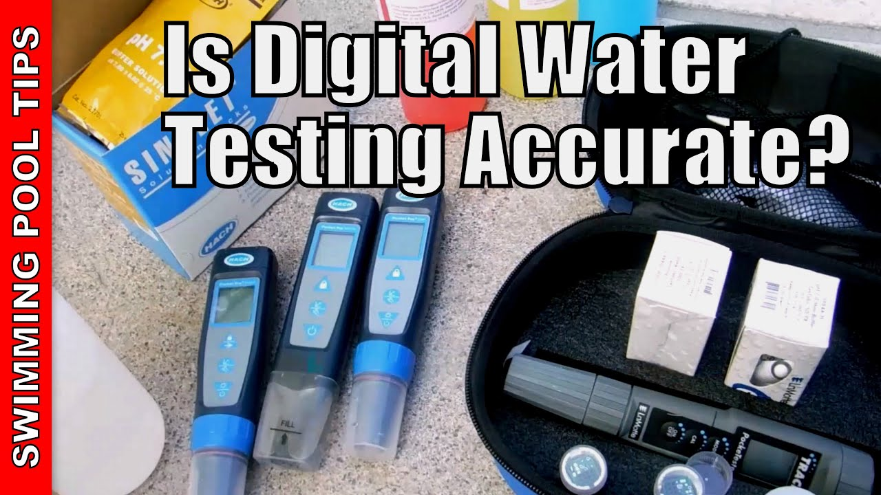 Is Digital Water Testing Accurate Youtube
