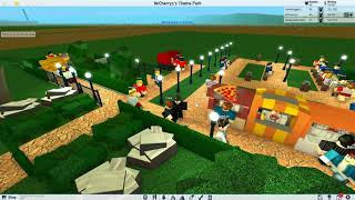 [ROBLOX: Theme Park Tycoon 2] Lets Play Ep2 - HYPE FROM MY NEW ROLLERCOASTER!