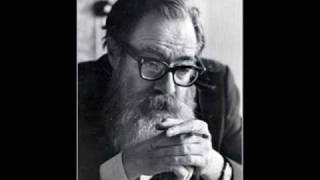 John Berryman reads from the Dream Songs  (1968) 1/6
