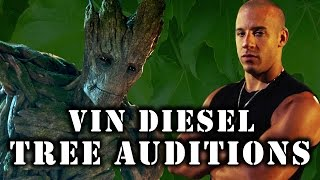 Vin Treesel: Auditions Before He Was Groot - Supercut