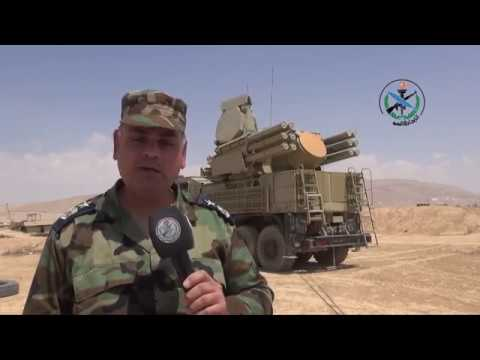 Syrian air defence systems