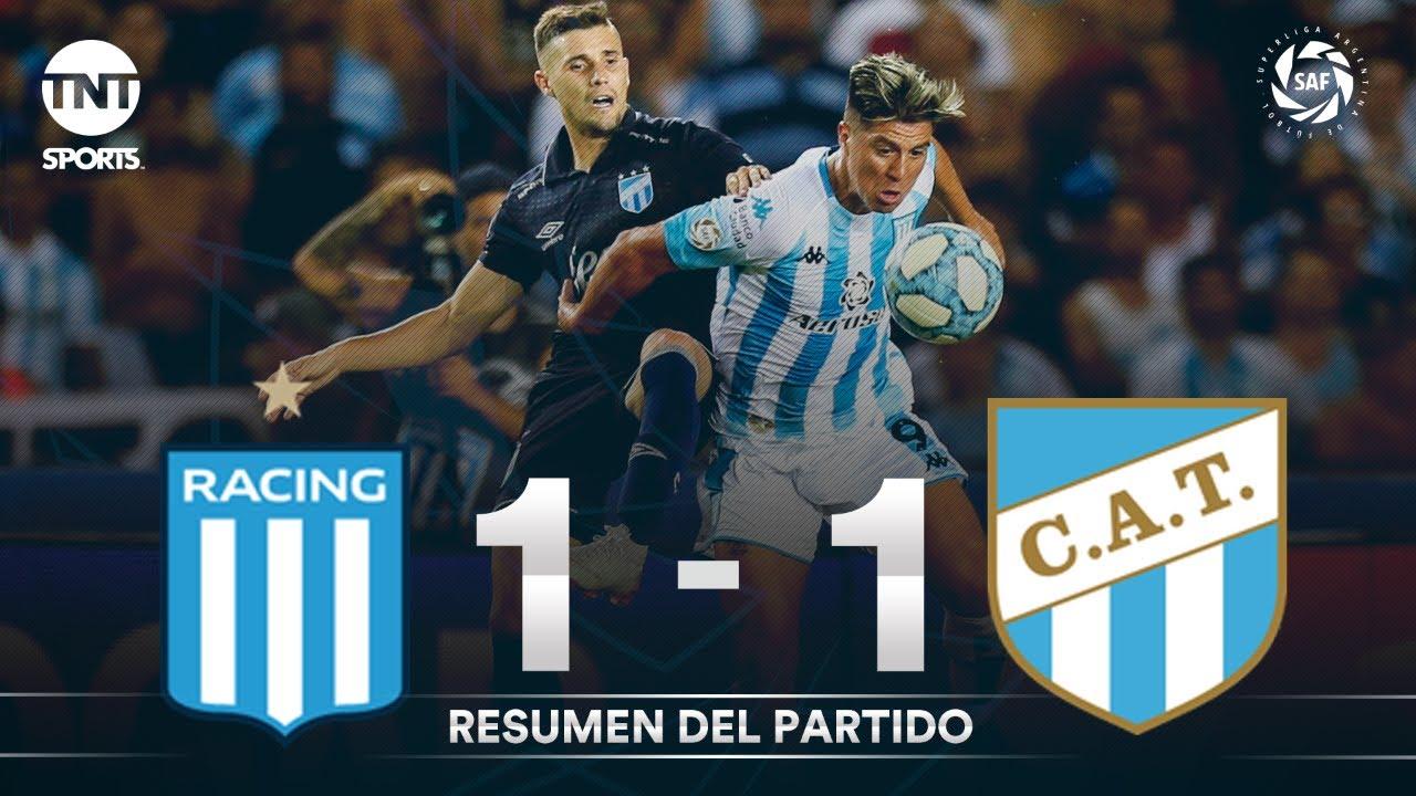 Resumen de Racing vs Atlético Tucumán (1-1) | Fecha 17 - Superliga Argentina 2019/2020