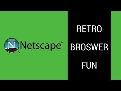 Playing with Netscape in 2017