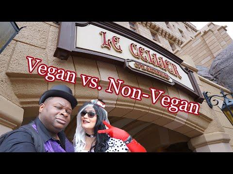 le-cellier---vegan-&-non-vegan-food-review-with-the-foolish-morgans---epcot---walt-disney-world