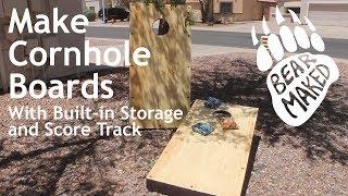 Make DIY Cornhole Boards!