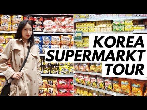 Koreanischer Supermarkt Tour 🛒 Lotte Mart Seoul Station🍲😍 Korea Vlog #61