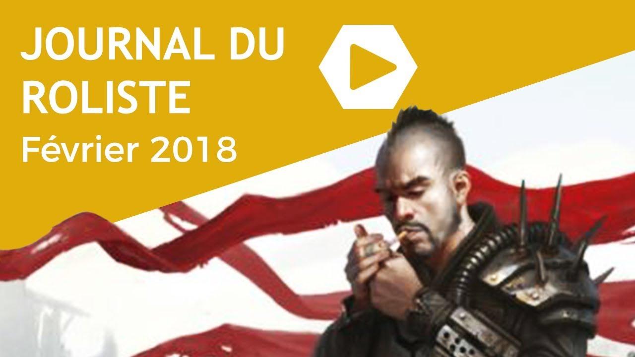 Journal du Rôliste - Février 2018