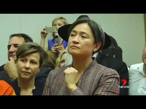 Penny Wong's reaction- Gay marriage vote results