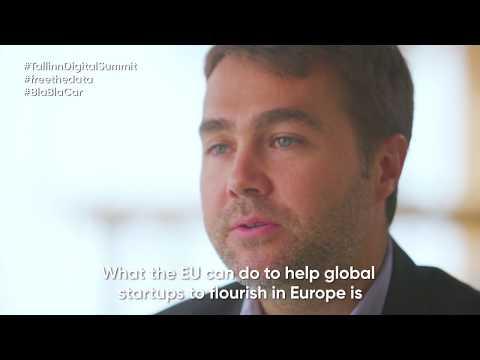 Tallinn Digital Summit keynote speech by Fred Mazzella (BlaBlaCar)