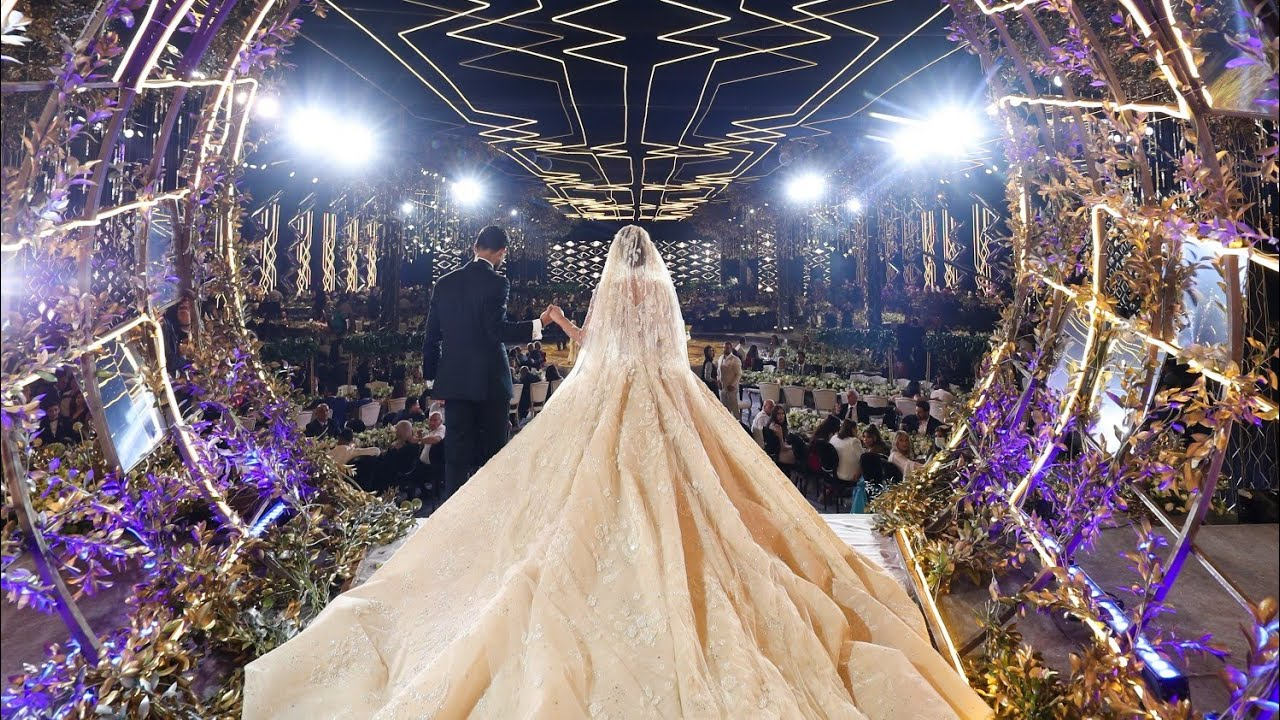 From An Empty Land To Fairyland-Epic Wedding Production!