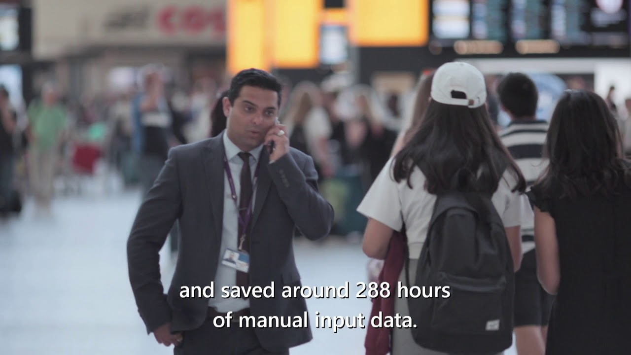 Samit Saini's Power Apps journey at Heathrow
