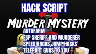 Roblox Murderer Mystery 2 Hack Script