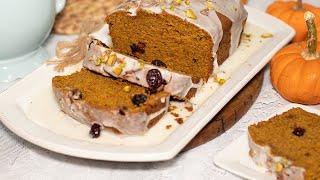 Spiced Pumpkin & Olive Oil Loaf Cake: Perfect Fall Dessert & Hostess Gift