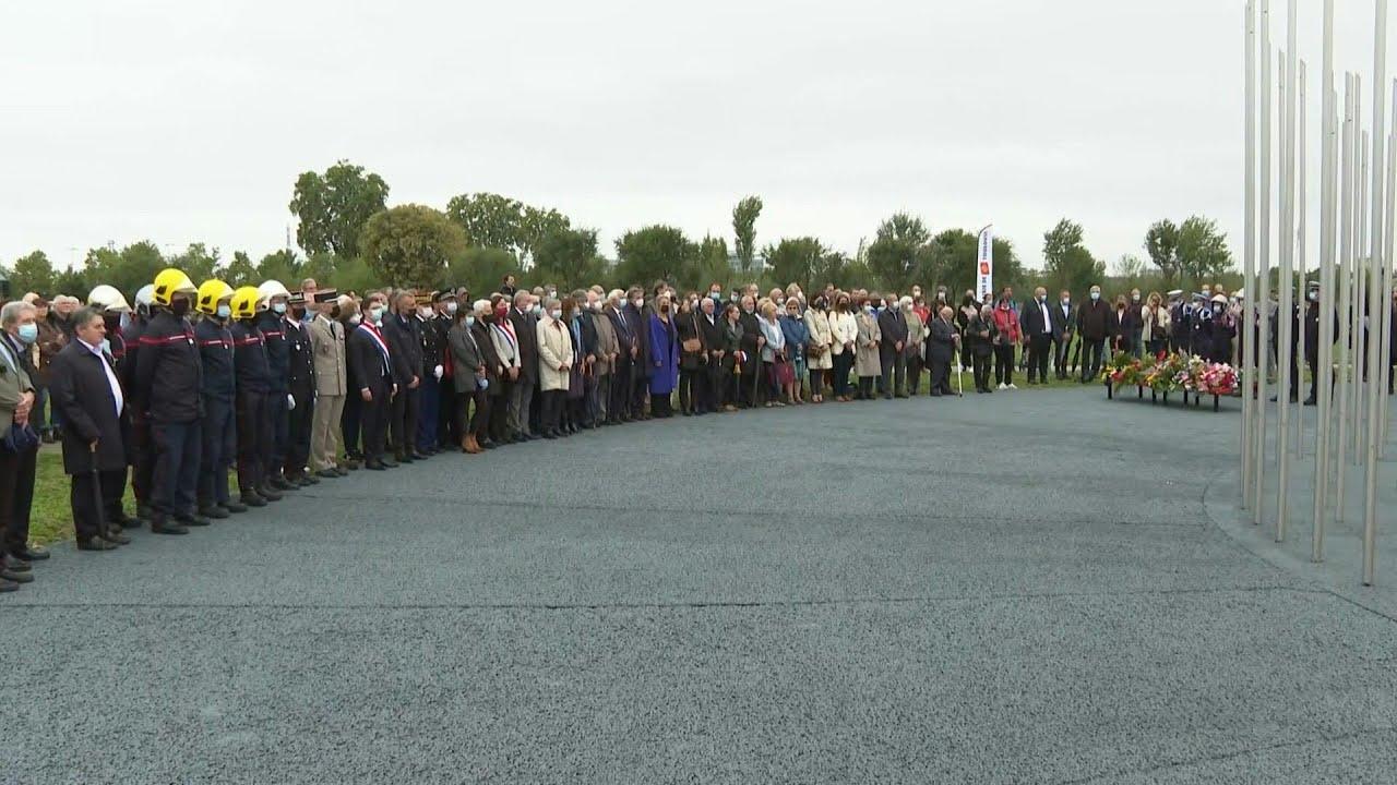 Download AZF: 20 ans après, cérémonie à Toulouse en mémoire des victimes de l'explosion | AFP Images