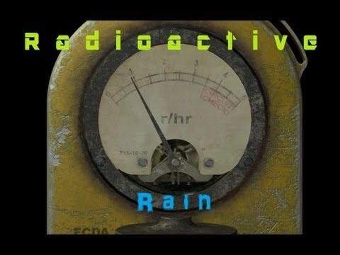 Why is my Rain Radioactive? Fukushima or Radon Washout?  (Test Results too)