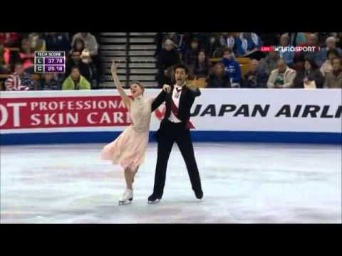 2016 Worlds   Dance   SD   Kaitlyn Weaver & Andrew Poje   The Blue Danube, Annen Polka, Op  117
