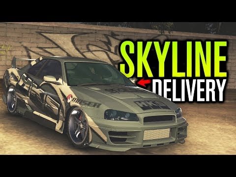 DREAM SKYLINE DELIVERY?! | Midnight Club LA Let's Play