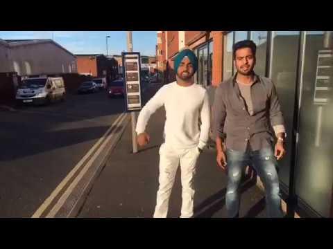 Ammy Virk & Mankirat Aulakh Doing Fun Shun in UK - Latest Punjabi Video 2017