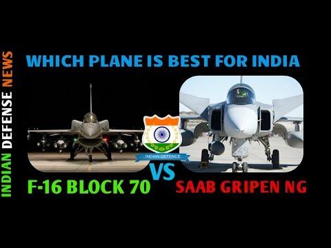 Latest indian defense news,F 16 block 70  vs Saab Gripen Ng , which is best by Indian defense news