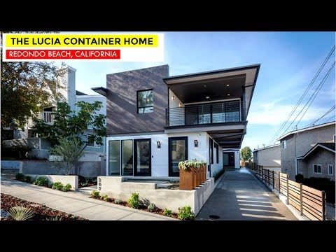 Lucia Container Home In Redondo Beach California By Architect Peter DeMaria | 207 South Lucia Avenue