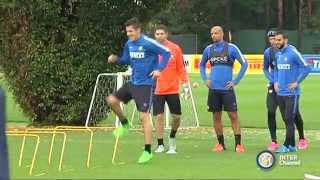ALLENAMENTO INTER REAL AUDIO 15 10 2015