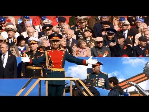 St. Petersburg Victory Day Parade 2018