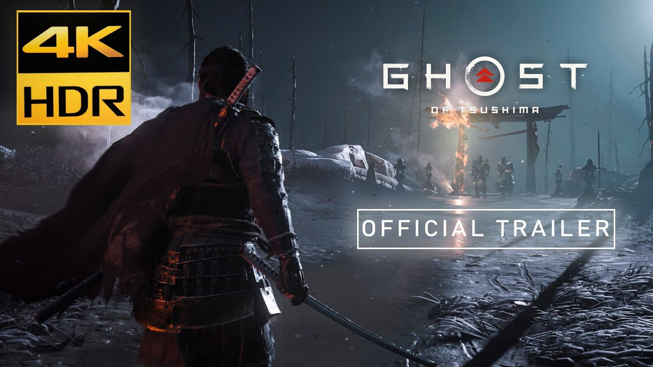 Ghost of Tsushima  Official Launch Trailer | 4K UHD