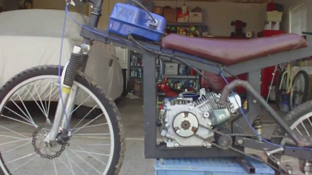 Mini Bike Shocks : Full suspension minibike youtube