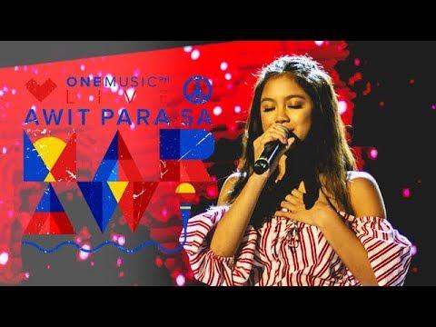 """Each Day"" by Ylona Garcia feat. Volts Vallejo | Awit Para Sa Marawi"