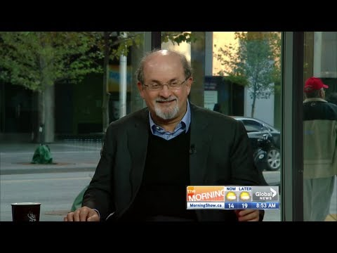 Salman Rushdie talks about new book Joseph Anton