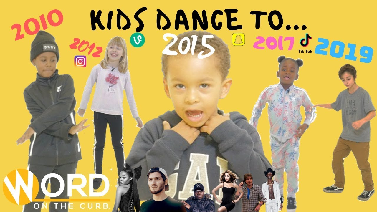 Kids Dance To... Songs From Every Year Of The Decade