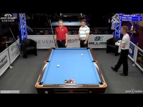 Last Sixteen - Stuttgart Open 2012, 18 Vogel-Heck, 10-Ball, Pool-Billard