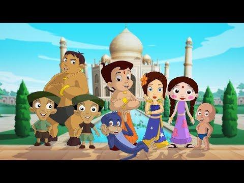 Chhota Bheem visits Taj Mahal