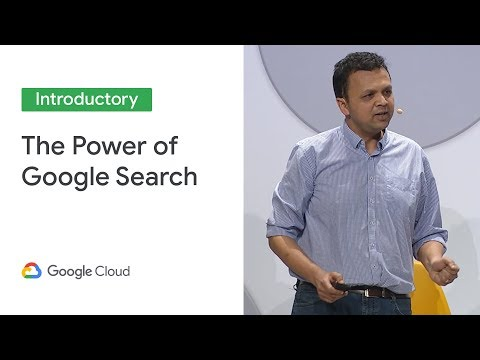 Bringing the power of Google Search to every business (Cloud Next '19) thumbnail