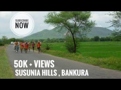 THE WAY TO SUSUNIA HILL , BANKURA ,WEST BENGAL..subscribe like share
