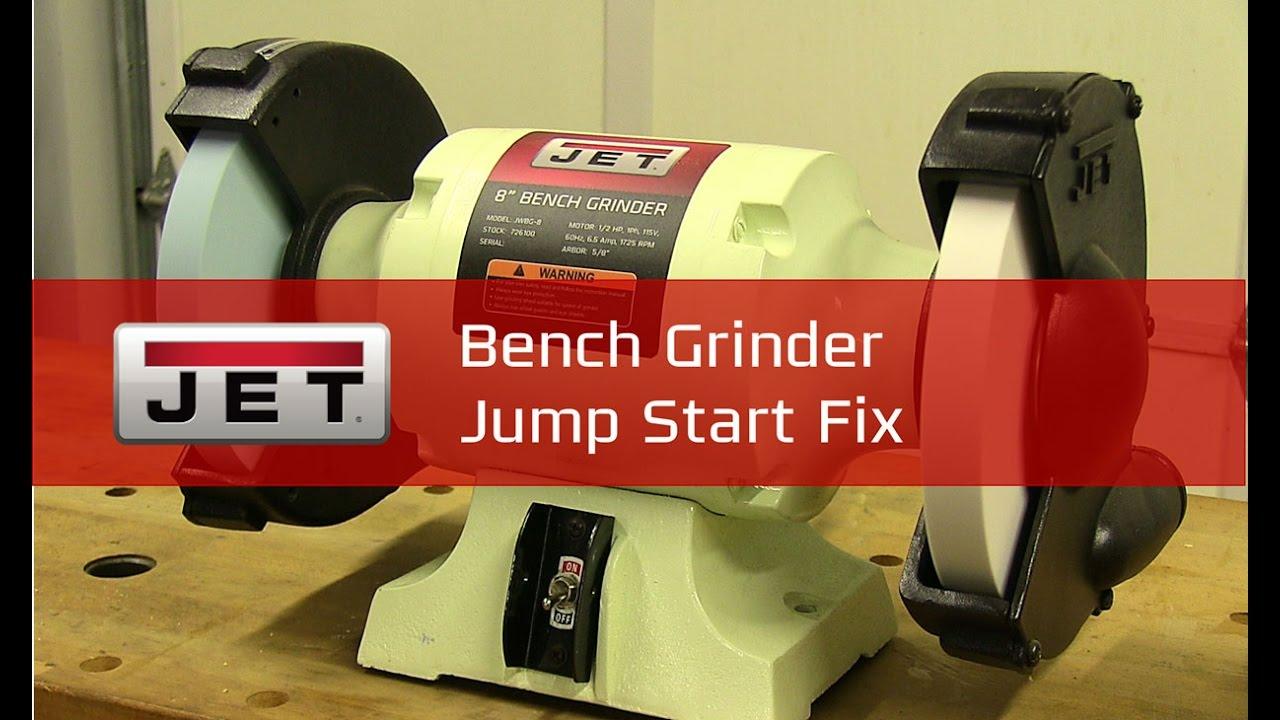 Bench Grinder Jump Start Fix Tiptuesday Youtube 8 Wiring Diagram