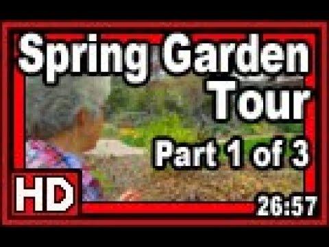 Spring Garden Tour Part 1 of 3 - Wisconsin Garden Video Blog 827