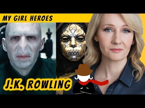 jk-rowling,-defeating-death-eaters-in-our-world-too---my-girl-heroes