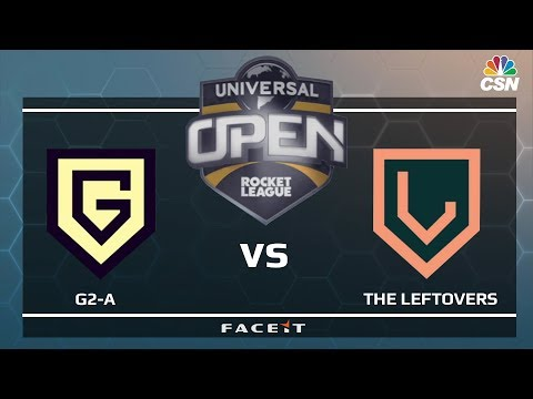 G2-A vs THE LEFTOVERS - Universal Open Rocket League