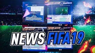 Fifa 19 les derniÈres news  avec jeanrage et lucio !